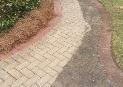 Sidewalk Pressure Washing